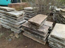 古材の板石