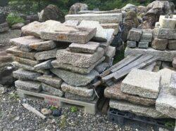 古材の板石の端材