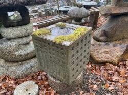銀閣寺型水鉢